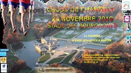 Cross de Chantilly - 24 Novembre 2019